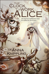 The cover for The Clockwork Alice