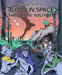 Cover for Blood In Space: The Icon Mutiny